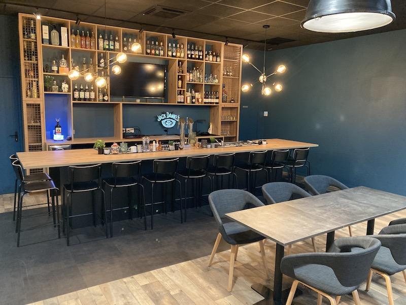 Salle de cours Bar et Restaurant du CFA Henriman Formation